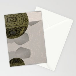 Opposed 3D 1 Stationery Cards