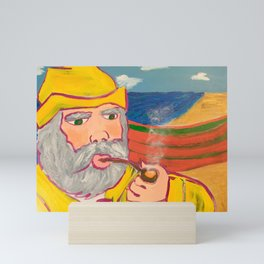 Chowder on the Seas Mini Art Print