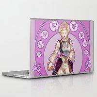 marie antoinette Laptop & iPad Skins featuring Marie Antoinette by Sara Poveda