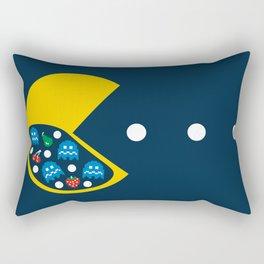 8-Bit Breakfast Rectangular Pillow