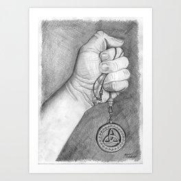 """Celtic Pendant"" Art Print"