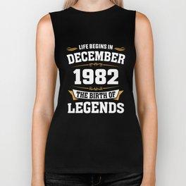 December 1982 36 the birth of Legends Biker Tank