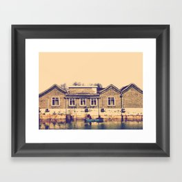 Let's Framed Art Print