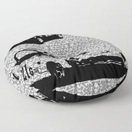 Spitfire vs Midget Floor Pillow