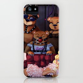 Goldiloxxx and the Three Bears iPhone Case