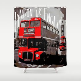 City-Art LONDON Westminster Shower Curtain