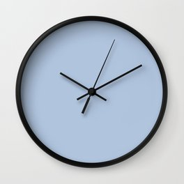 Light Steel Blue - solid color Wall Clock