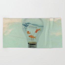 Ideas and Goldfish (RM) Beach Towel