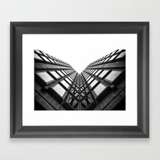 Vee Framed Art Print