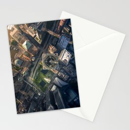 Above the One World Trade Center Stationery Cards