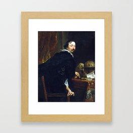 Anthony van Dyck Lucas van Uffel Framed Art Print
