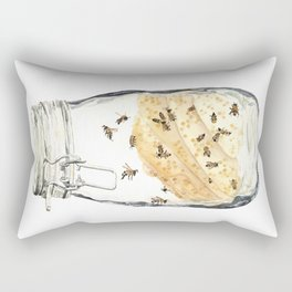 Captives: The Bee Jar Rectangular Pillow