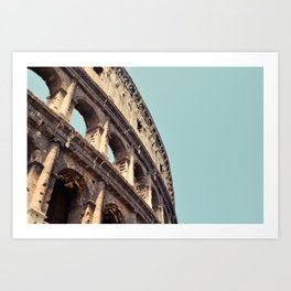 Postcards from Italy: Il Colosseo Art Print