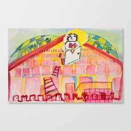 The Final Door Canvas Print
