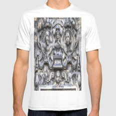 Guards Of The Tomb White MEDIUM Mens Fitted Tee