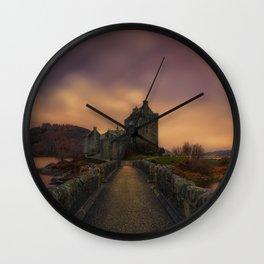 Island of Donnán Wall Clock