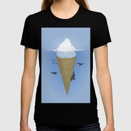 Ice Cream and Whale T-shirt