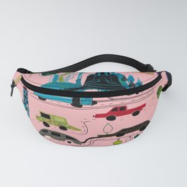 CityView pink Fanny Pack