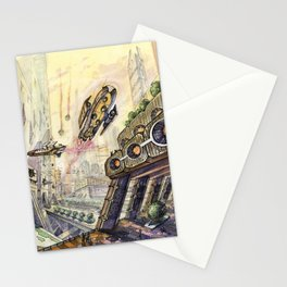 City of future Stationery Cards