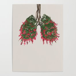 Myrtle's Lungs Poster