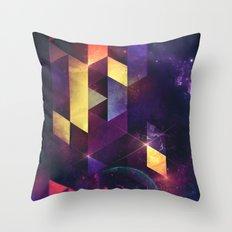 cryxxyng spyce Throw Pillow