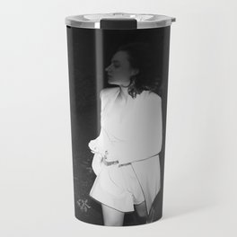 Searching for a Rabbit Hole Travel Mug