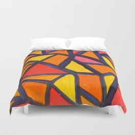 Striking Abstract Pattern Duvet Cover