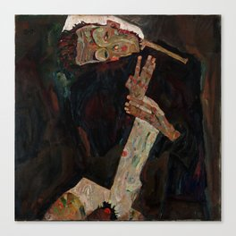"Egon Schiele ""The Lyricist"" Canvas Print"