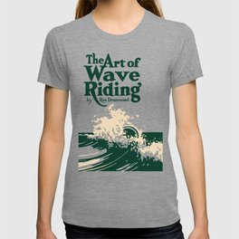 The Art of Wave Riding 1931, First Surfing Book Artwork, for Wall Art, Prints, Posters, Tshirts, Men, Women, Kids T-shirt