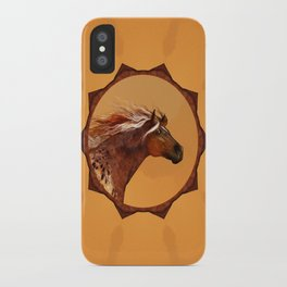 HORSE - An Appaloosa called Ginger iPhone Case