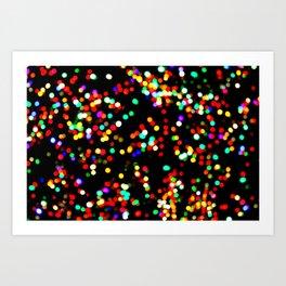 celebrate color Art Print