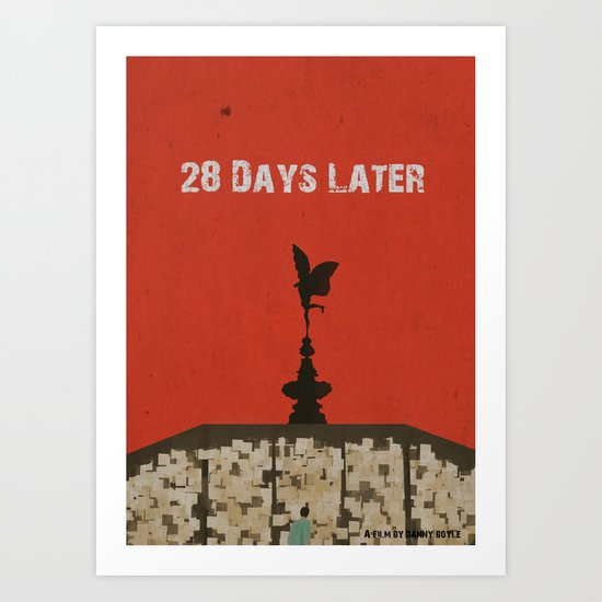 28 Days Later Art Print