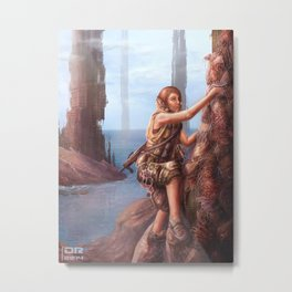 Scaling the 4th Monolith Metal Print