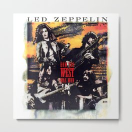 How the West Was Won Led (Live) [Remastered] by Zeppelin Metal Print