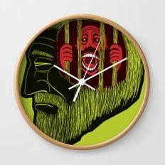 crime and punishment Wall Clock