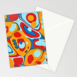 Flattened Harlequins Stationery Cards