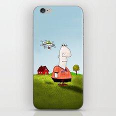 Little UFO iPhone & iPod Skin