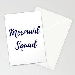 Mermaid Squad Stationery Cards