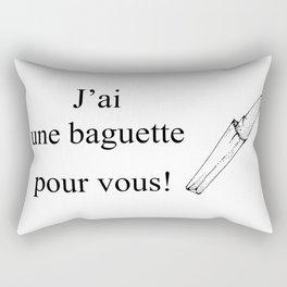 Mon Dieu! Rectangular Pillow