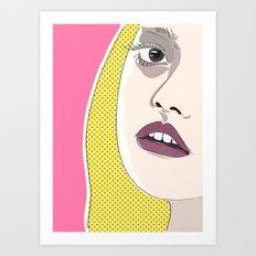 Visit To The Cinema Art Print