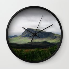 Green Mountain Wall Clock