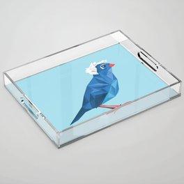 Birdie Sanders Acrylic Tray