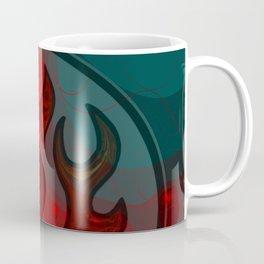 Embers Abstract Art Coffee Mug