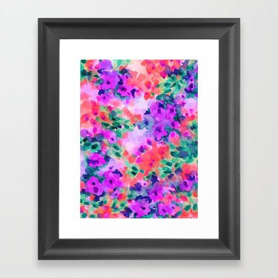 Flourish 2 Framed Art Print