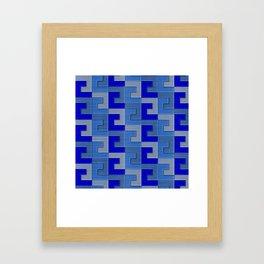 Geometrix XCI Framed Art Print