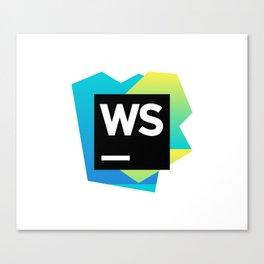 WebStorm Canvas Print