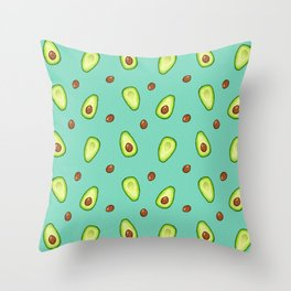 Off With Their Pits Throw Pillow