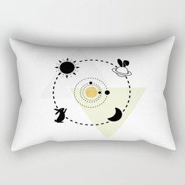 Cosmic Bunny #6 Rectangular Pillow