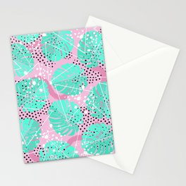 Funny Monstera Stationery Cards