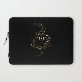 Serpent and the Watcher Laptop Sleeve